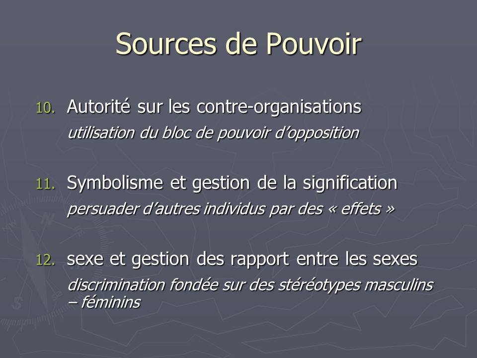 Sources de Pouvoir 10.