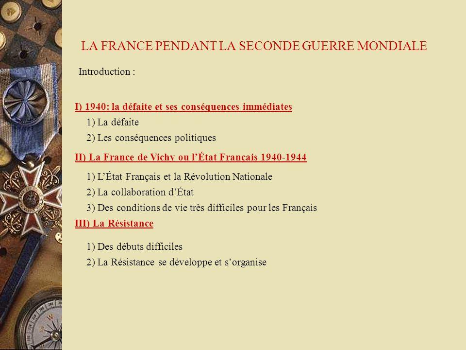 - Force Française Libre - Jean Moulin - Conseil nationale de la Résistance - Force Française Libre - Gouvernement Provisoire de la République Française 2) La résistance se développe et sorganise