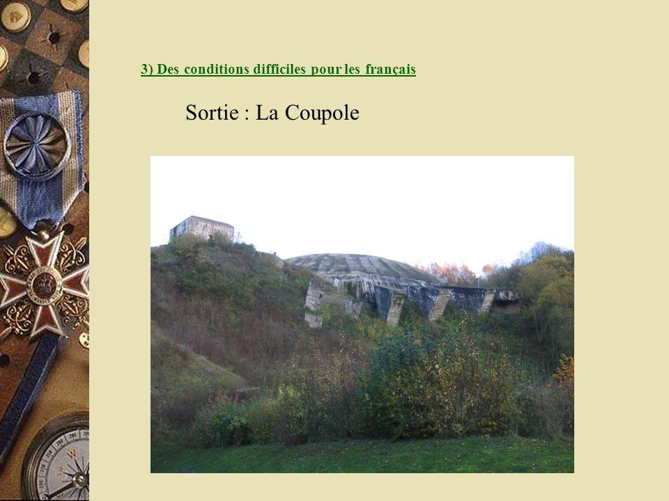 3) Des conditions difficiles pour les français Sortie : La Coupole
