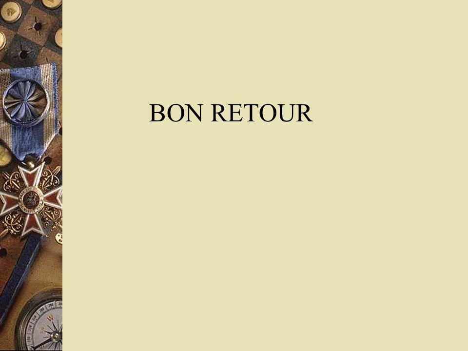 BON RETOUR
