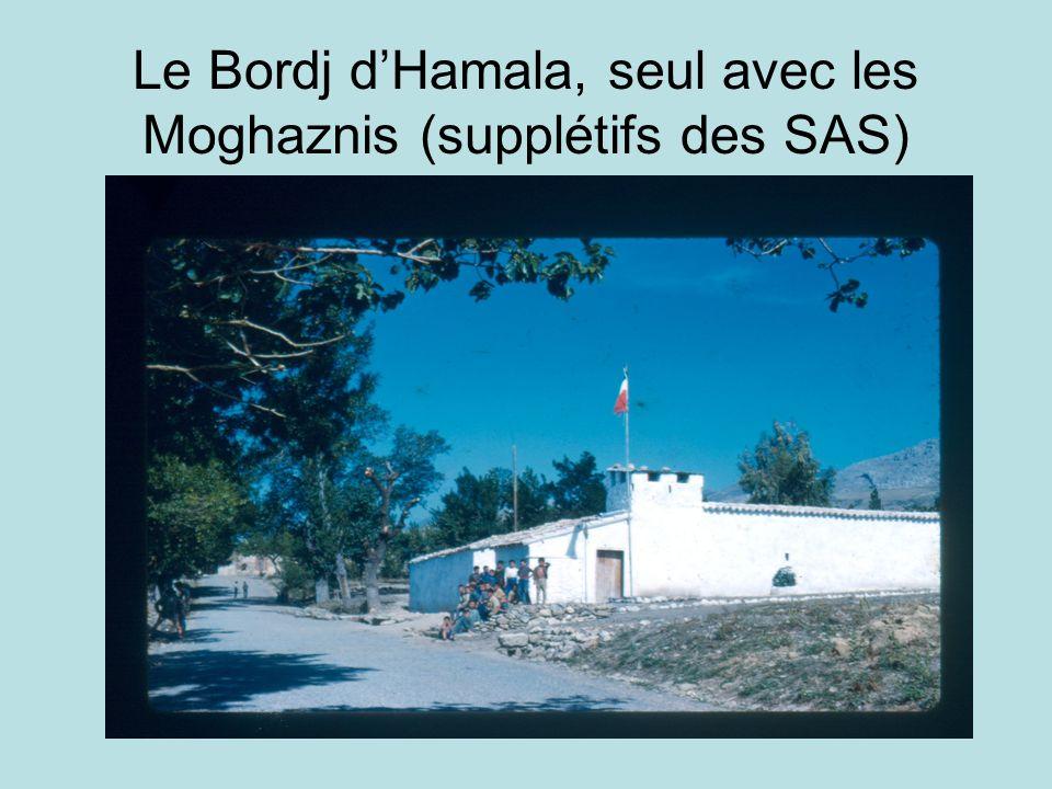 Le Bordj dHamala, seul avec les Moghaznis (supplétifs des SAS)