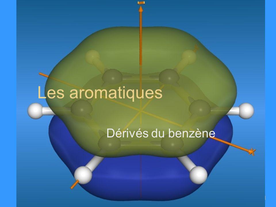 X.Bataille – ENCPB – 2008I-11 Les aromatiques Dérivés du benzène