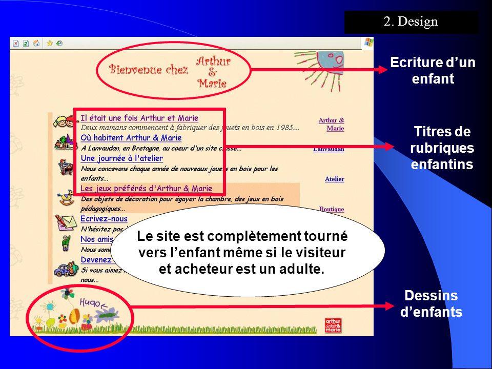 Ecriture dun enfant Dessins denfants Titres de rubriques enfantins Le site est complètement tourné vers lenfant même si le visiteur et acheteur est un