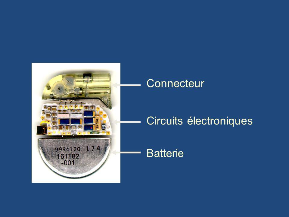 Connecteur Circuits électroniques Batterie