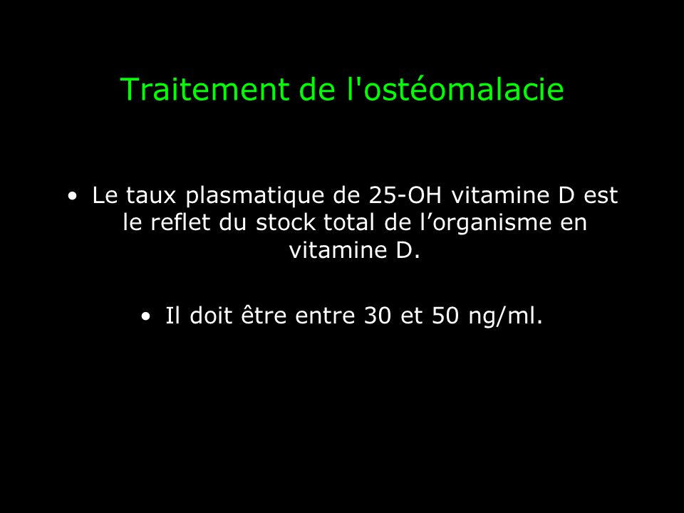 Traitement de l ostéomalacie ZYMAD ® (Cholécalciférol) –Solution buvable en gouttes : par goutte 300 UI, flacon de 10ml; –Solution buvable en ampoules à 80 000 UI et 200 000 UI avec pointe autocassable.