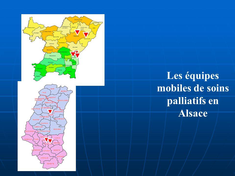Les équipes mobiles de soins palliatifs en Alsace