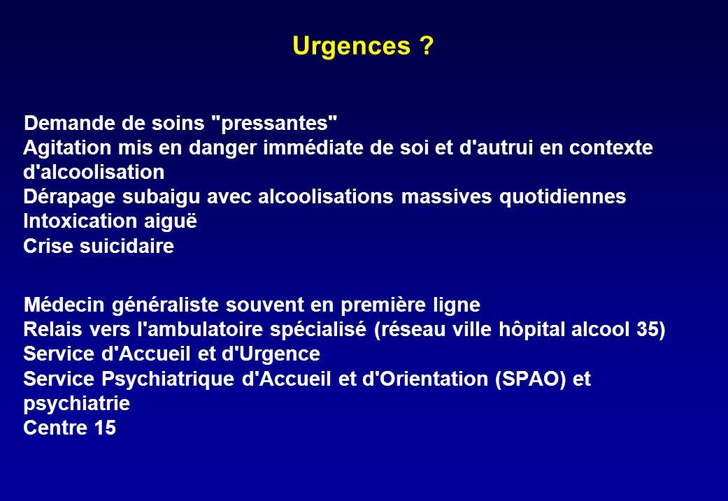 Urgences .