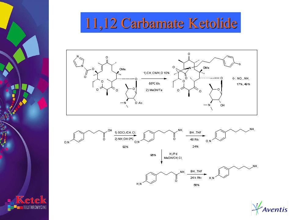 11,12 Carbamate Ketolide
