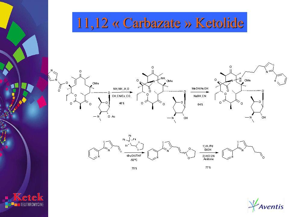 11,12 « Carbazate » Ketolide
