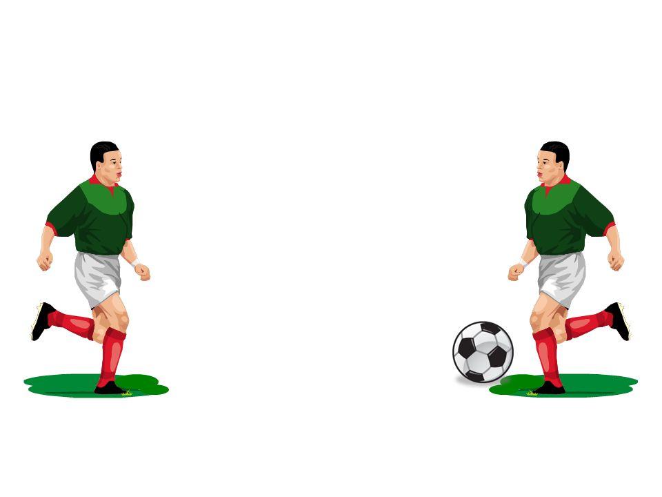 Voici les démarches à suivre 1.Copier le footballeur 2.Inverser limage 3.La placer face au 1 er footballeur Le décor est planté, voyons lanimation du ballon
