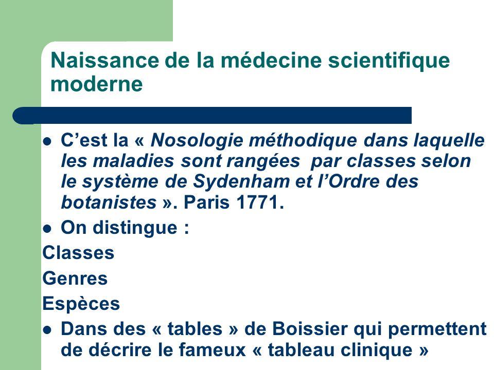 Edition originale du premier des trois volumes de la Nosologie (connaissance des maladies) de Boissier.