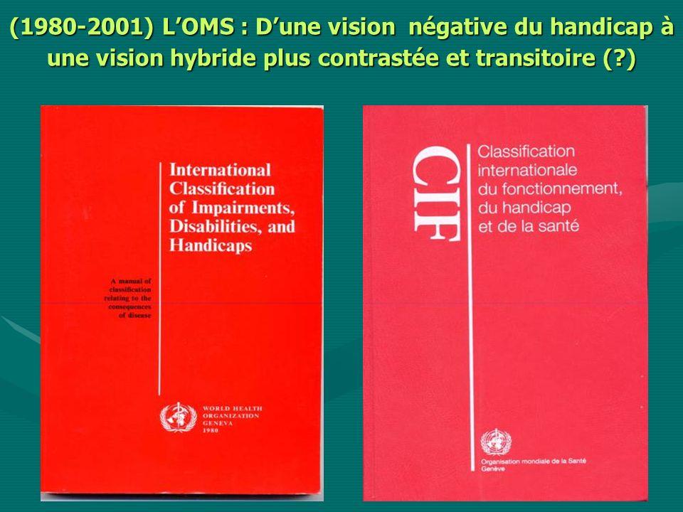 (1980-2001) LOMS : Dune vision négative du handicap à une vision hybride plus contrastée et transitoire ( )