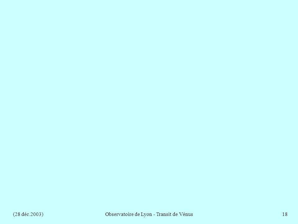 (28 déc.2003)Observatoire de Lyon - Transit de Vénus18