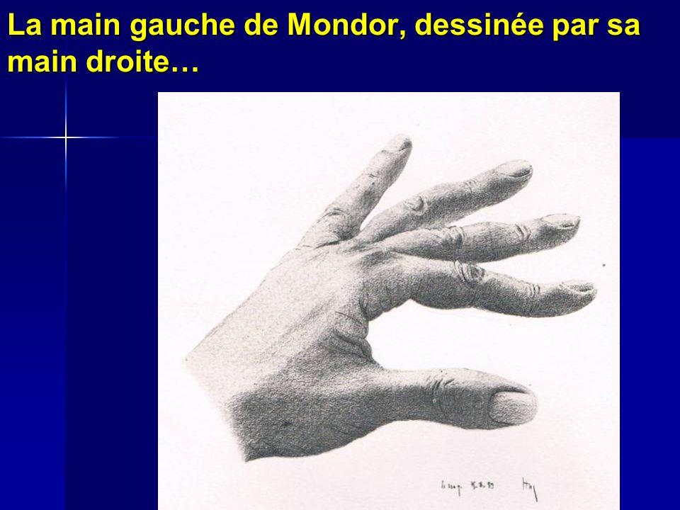 La main gauche de Mondor, dessinée par sa main droite…