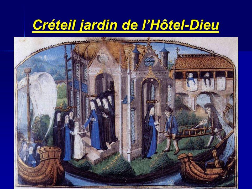 Créteil jardin de lHôtel-Dieu