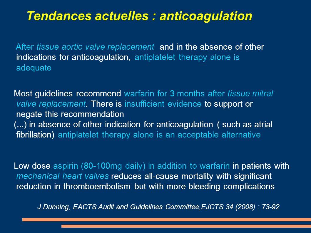 Tendances actuelles : âge d implantation Van Geldorp and al., JTCS 2009