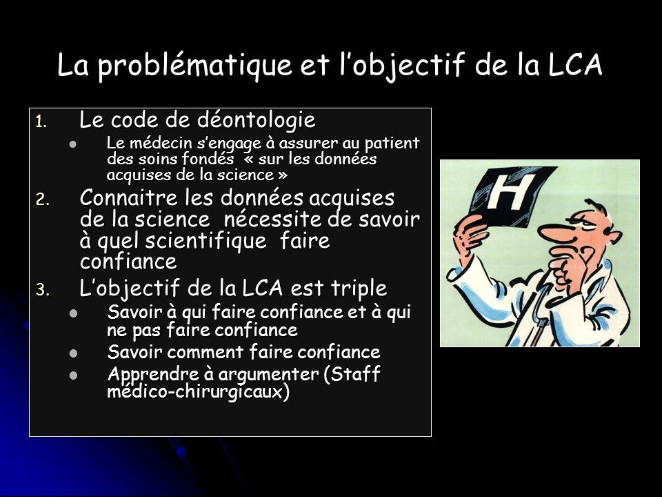 La problématique et lobjectif de la LCA 1.