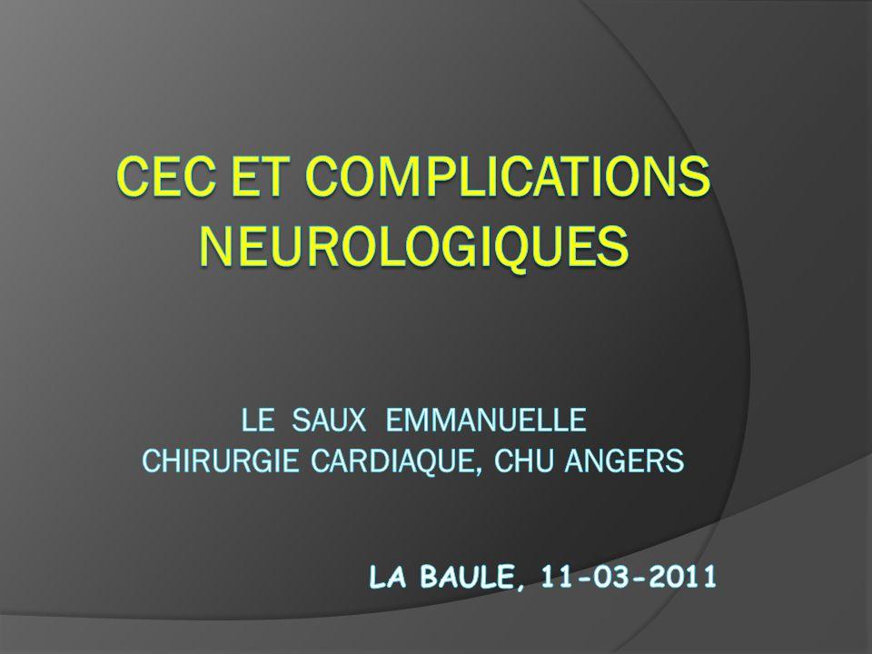INTRODUCTION Complications de 2 types.