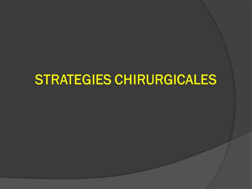 STRATEGIES CHIRURGICALES