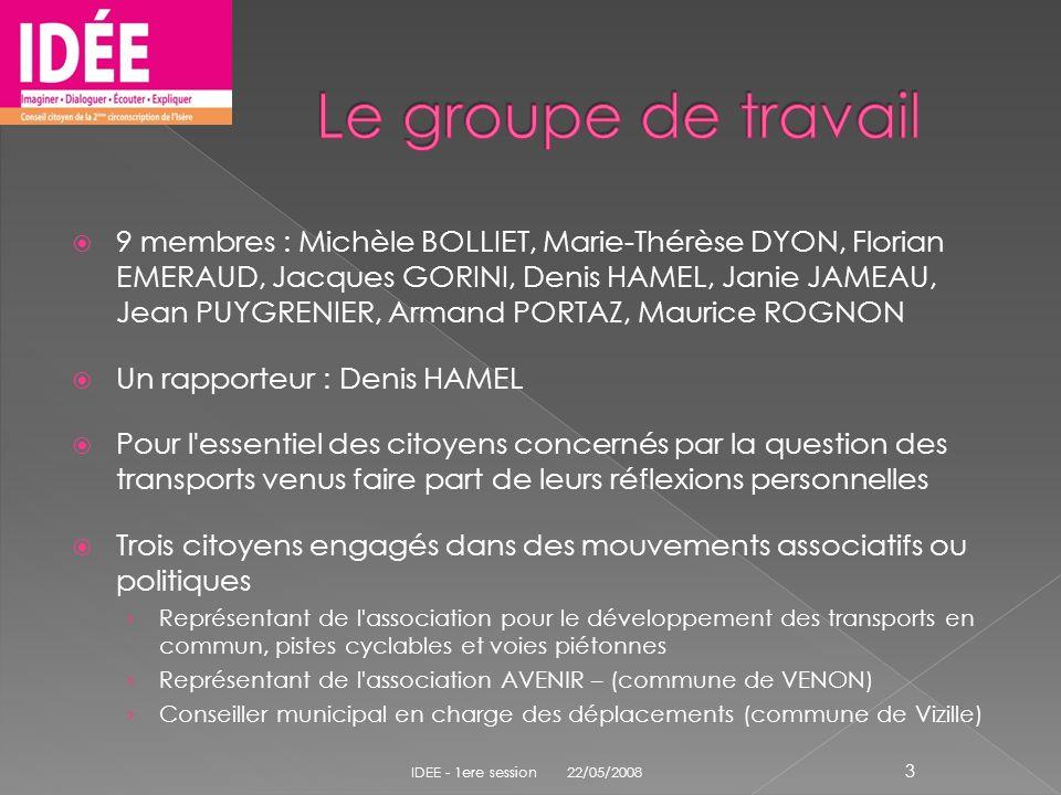 9 membres : Michèle BOLLIET, Marie-Thérèse DYON, Florian EMERAUD, Jacques GORINI, Denis HAMEL, Janie JAMEAU, Jean PUYGRENIER, Armand PORTAZ, Maurice R