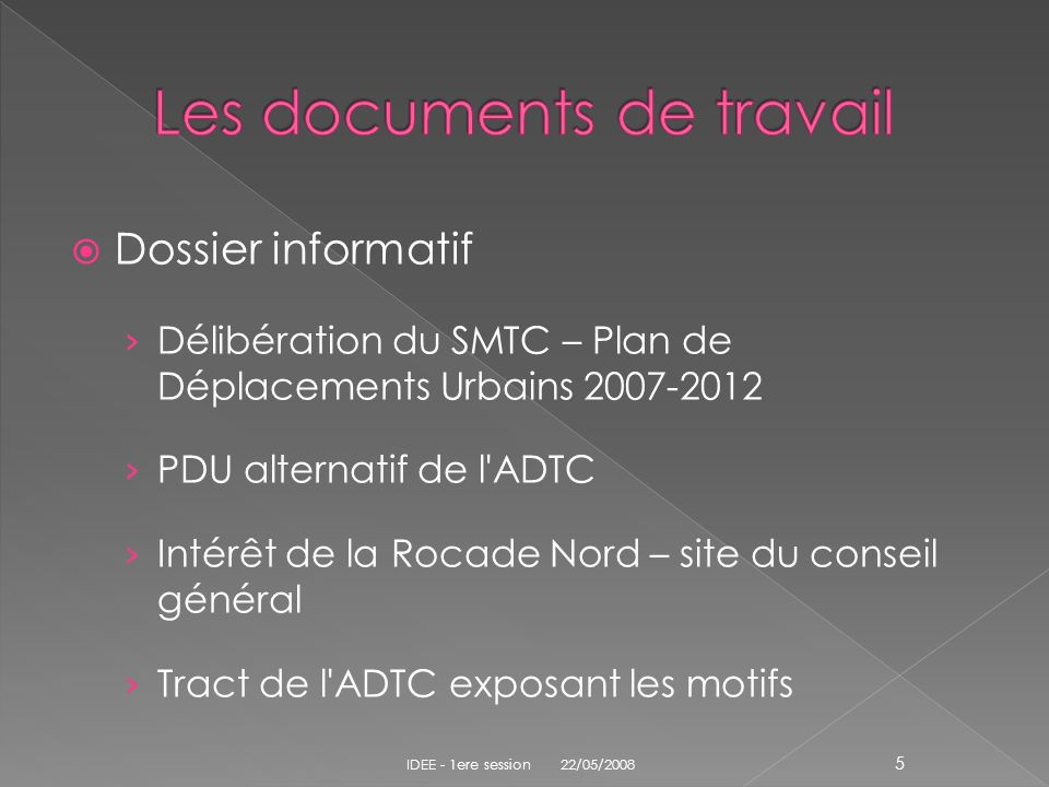 Documents fournis par les participants Michèle Bolliet (association AVENIR – VENON).