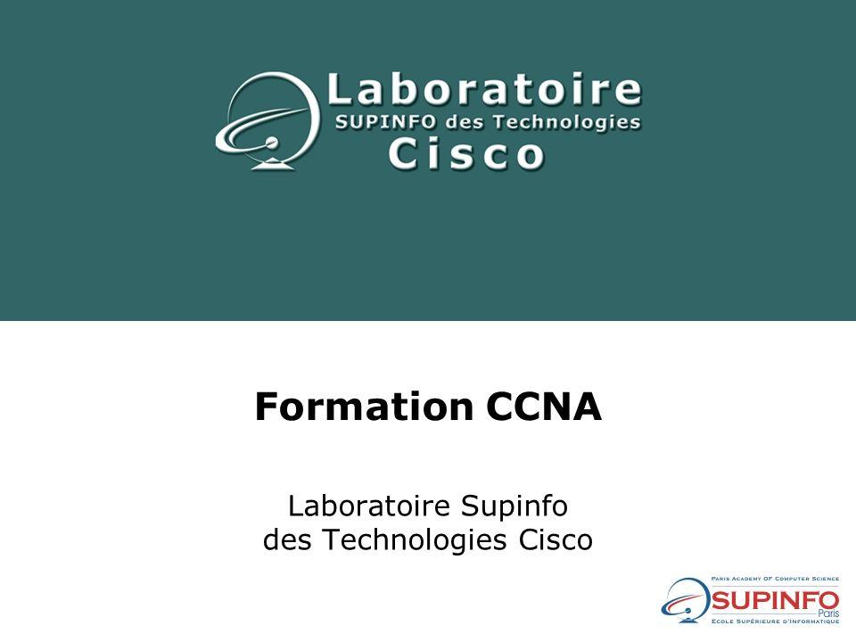 Nicolas CAUCHIE Nicolas.CAUCHIE@supinfo.com CCNA (Cisco Certified Network Associate) CCAI (Cisco Certified Academy Instructor)