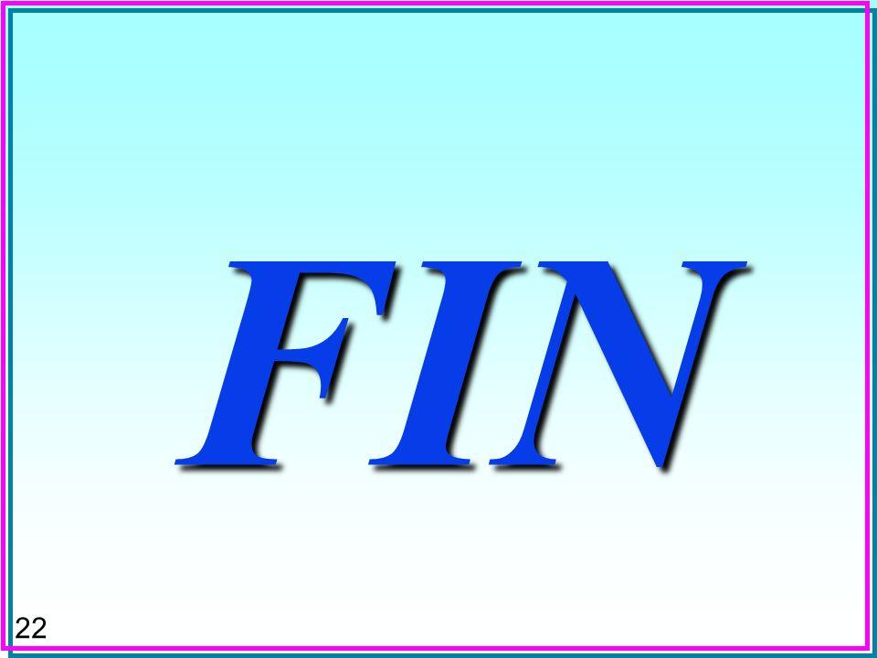 22 FIN FIN