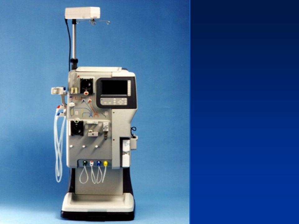 Le générateur dhémodialyse 1)Produit le liquide de dialyse. - solution de composition proche du plasma. - addition de concentré et deau ultra-pure. -