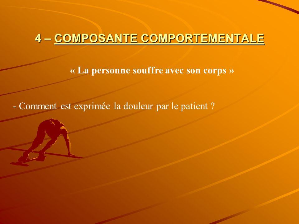 4 COMPOSANTES 1– Fédération Nationale des Centres de Lutte contre le Cancer.