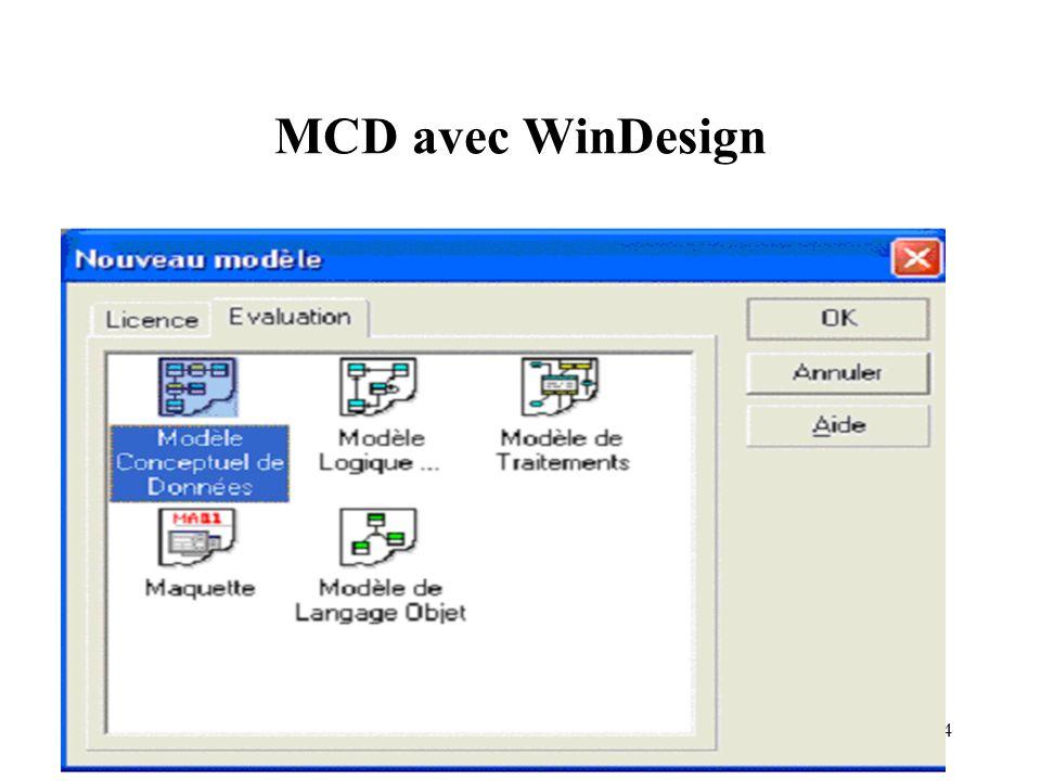 14 MCD avec WinDesign