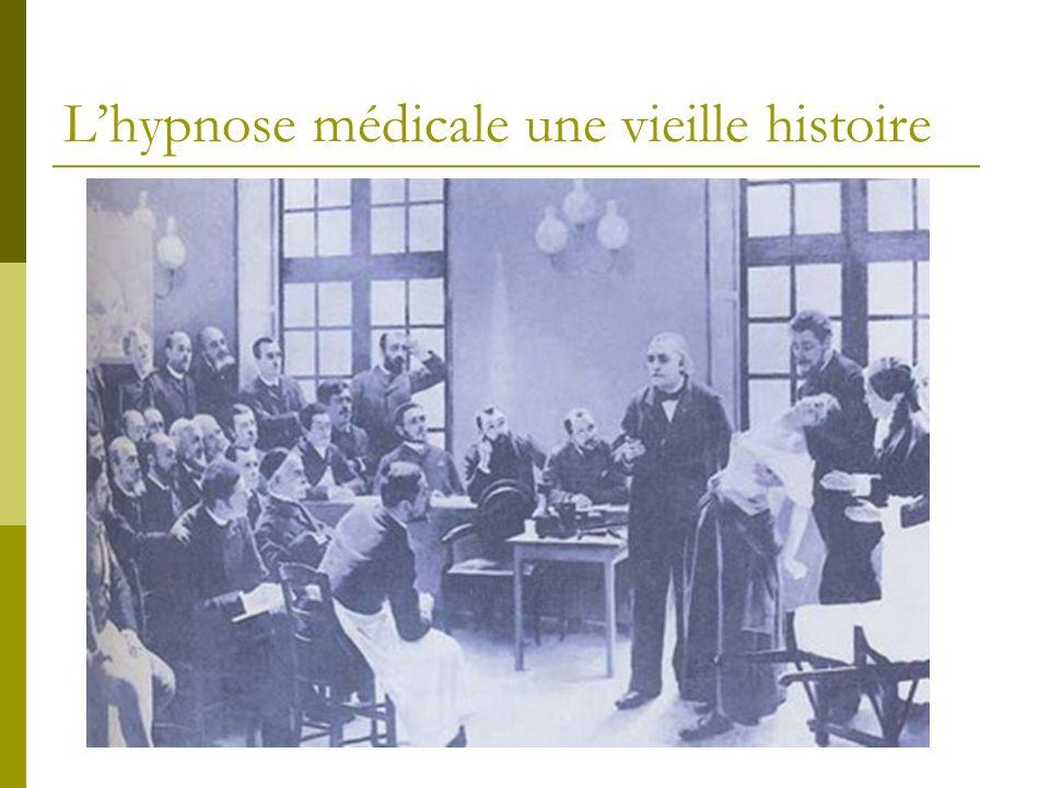 Lhypnose médicale une vieille histoire