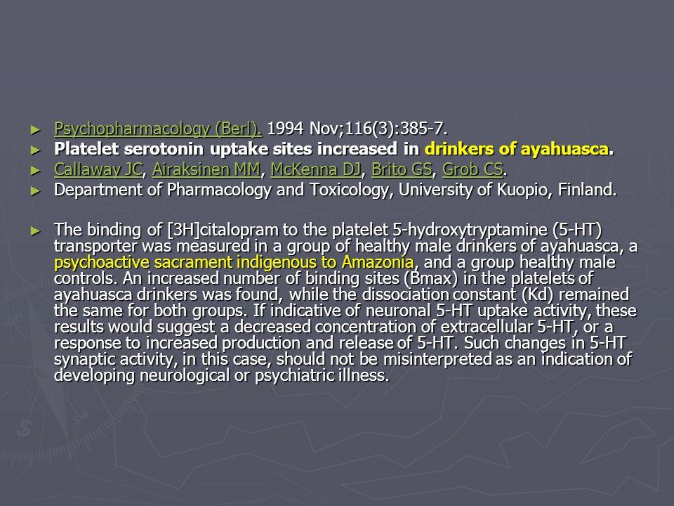 Psychopharmacology (Berl). 1994 Nov;116(3):385-7. Psychopharmacology (Berl). 1994 Nov;116(3):385-7. Psychopharmacology (Berl). Psychopharmacology (Ber