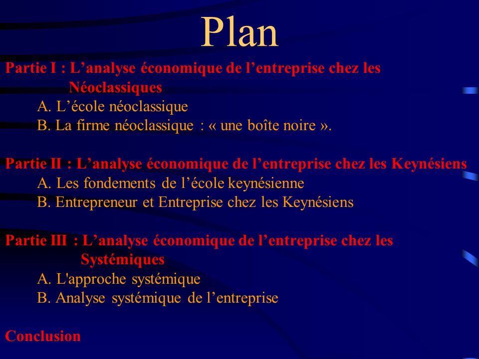 3.Les différentes écoles keynésiennes: Keynésianisme de longue période.