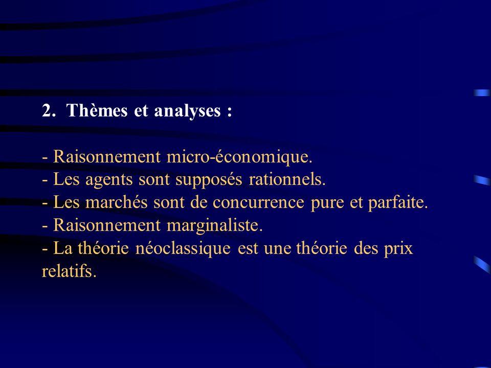 3.Les principaux auteurs de l école Néoclassique : - William STANLEY-JEVONS - Carl MENGER - Léon WALRAS
