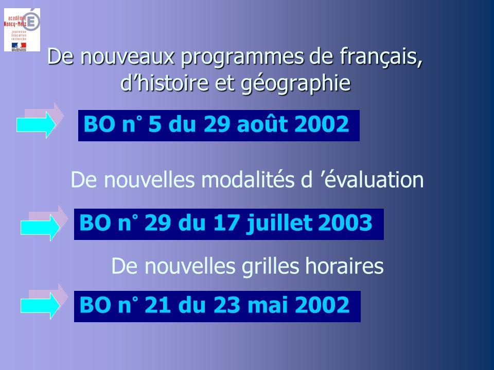 Lancien programme date de 1980 Le public a changé L architecture des diplômes sest modifiée Le contexte a changé Pourquoi un nouveau programme ?