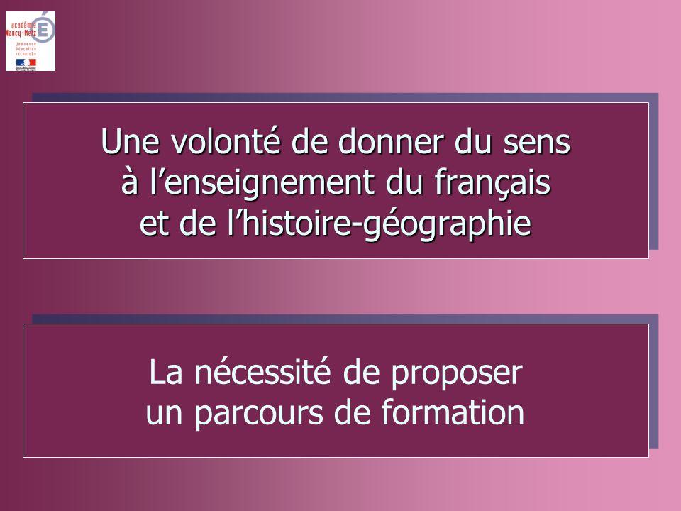 Répondre à la question « à quoi sert le français » par quatre finalités qui structurent le programme Répondre à la question « à quoi sert le français » par quatre finalités qui structurent le programme Construction de lindividu Intégration sociale dans le groupe Insertion dans le milieu professionnel Construction dun citoyen