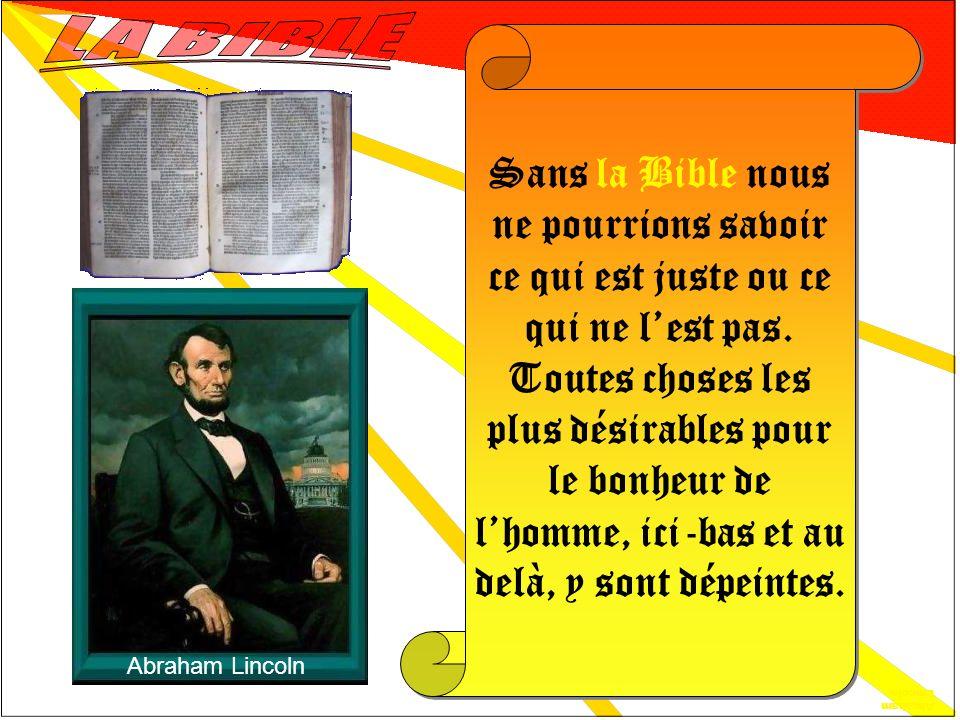 Napoléon 1er L Évangilepossède une vertu secrète, je ne sais quoi d efficace et de chaleureux qui agit sur l entendement et qui charme le cœur… l Évangile n est pas un livre: c est un être vivant.