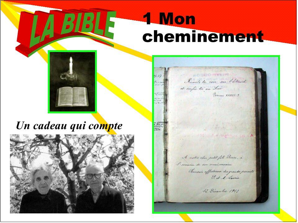 Un témoignage personnel 1 Mon cheminement 2 La Bible de famille 3 Transmission 3 3 4 Les secrets de lhistoire