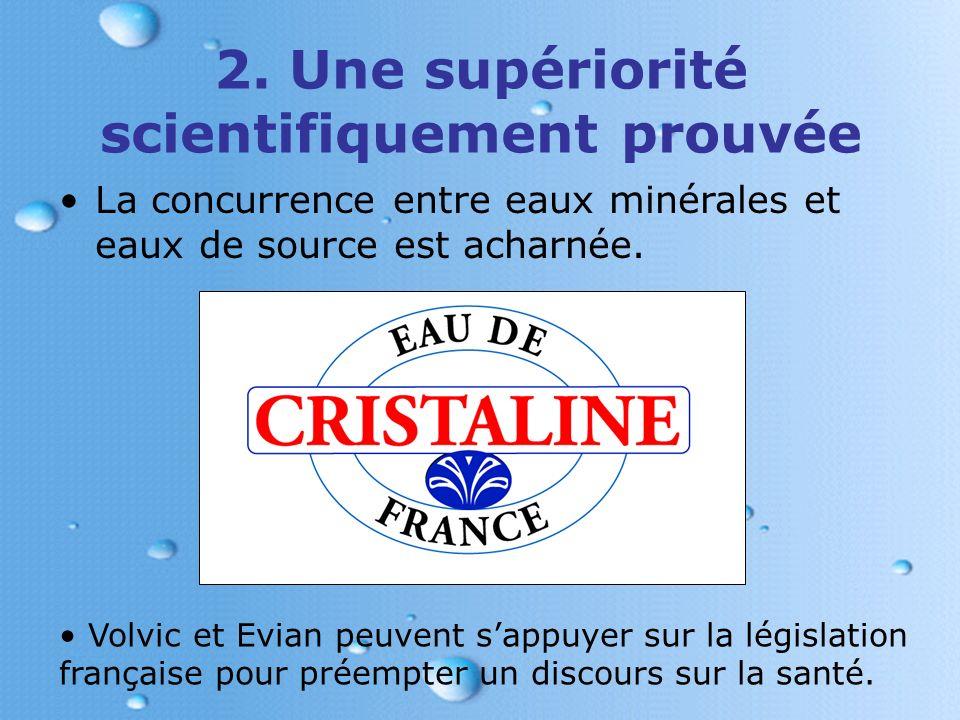 Volvic et Evian : des eaux idéales pour les bébés et les mamans Le PH neutre dEvian, les oligo- éléments de Volvic.