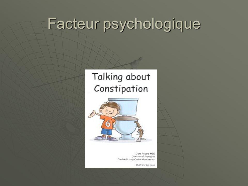 Facteur psychologique