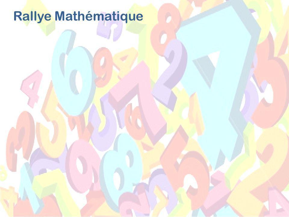 Rallye Mathématique