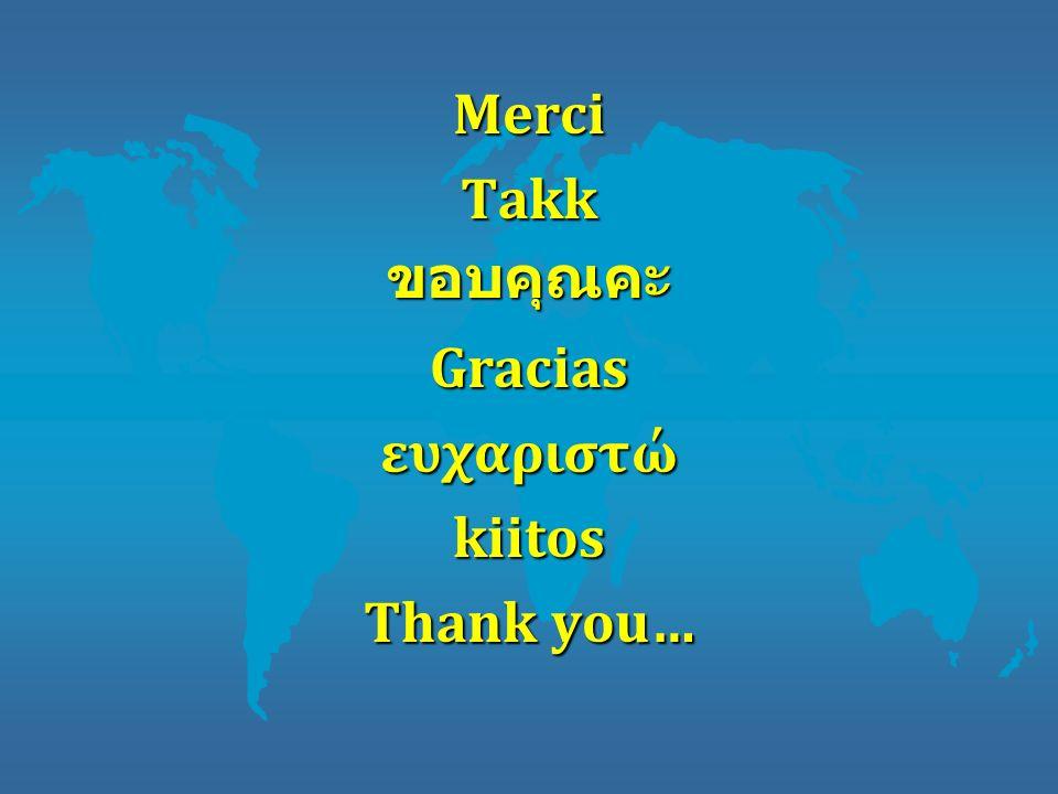 MerciTakkGraciasευχαριστώkiitos Thank you…