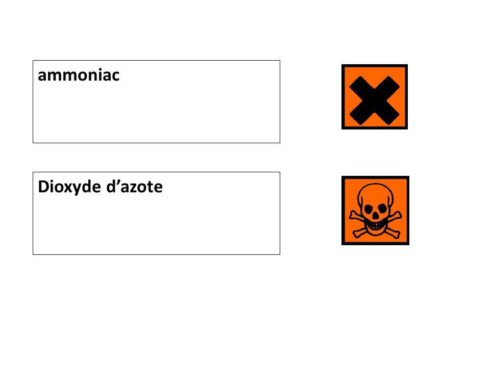 ammoniac Dioxyde dazote