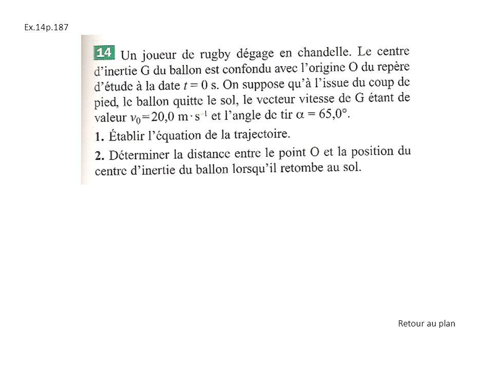 Ex.14p.187 Retour au plan