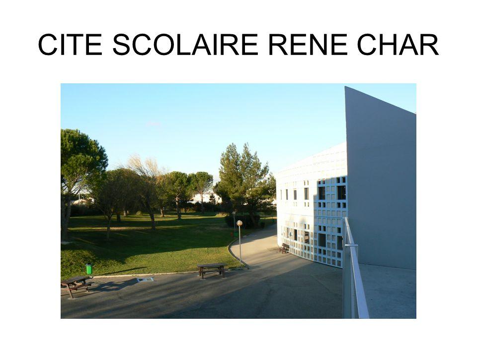 CITE SCOLAIRE RENE CHAR