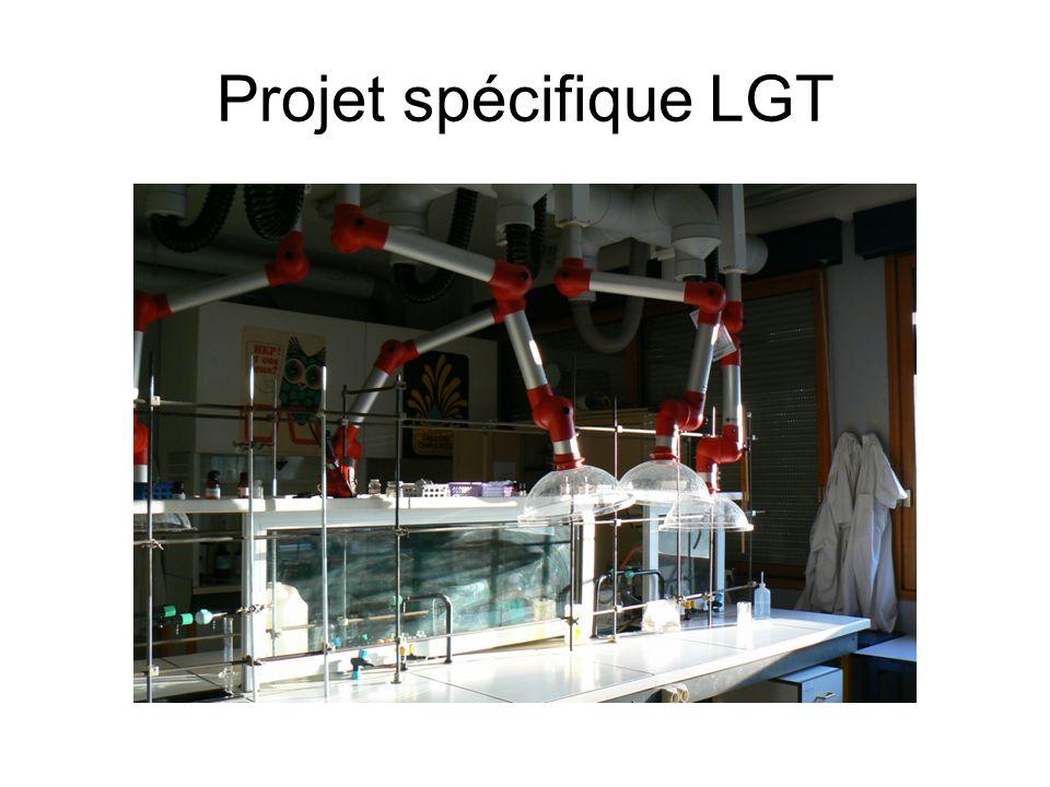 Projet spécifique LGT