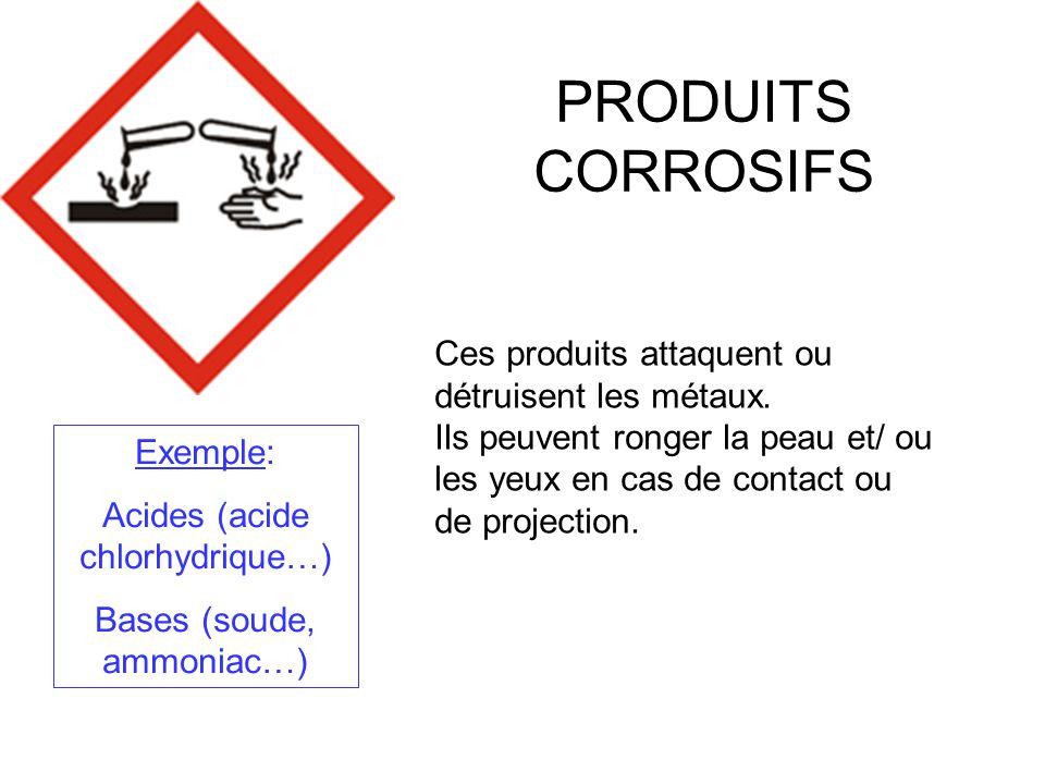 DANGER DE TOXICITE AIGUE Ces produits empoisonnent rapidement même à faible dose.