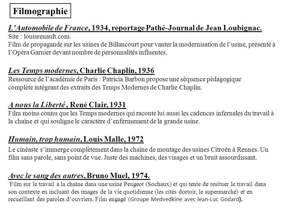 LAutomobile de France, 1934, reportage Pathé-Journal de Jean Loubignac. Site : louisrenault.com. Film de propagande sur les usines de Billancourt pour