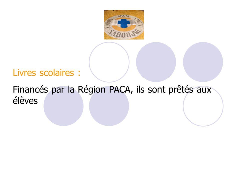 Livres scolaires : Financés par la Région PACA, ils sont prêtés aux élèves