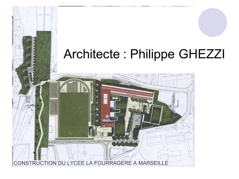 Architecte : Philippe GHEZZI